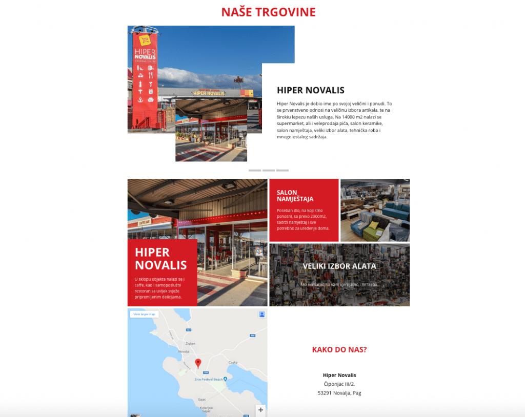 Dobro došli na našu novu web stranicu